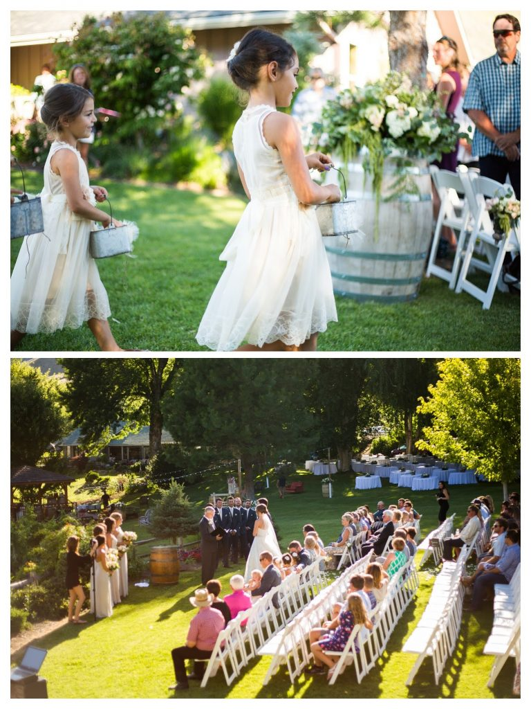 ceremony-wine-barrel-flower-girl-florist-www-rpimagery-com-lakechelanflowers-com-lakechelanweddingrentals-com-collage