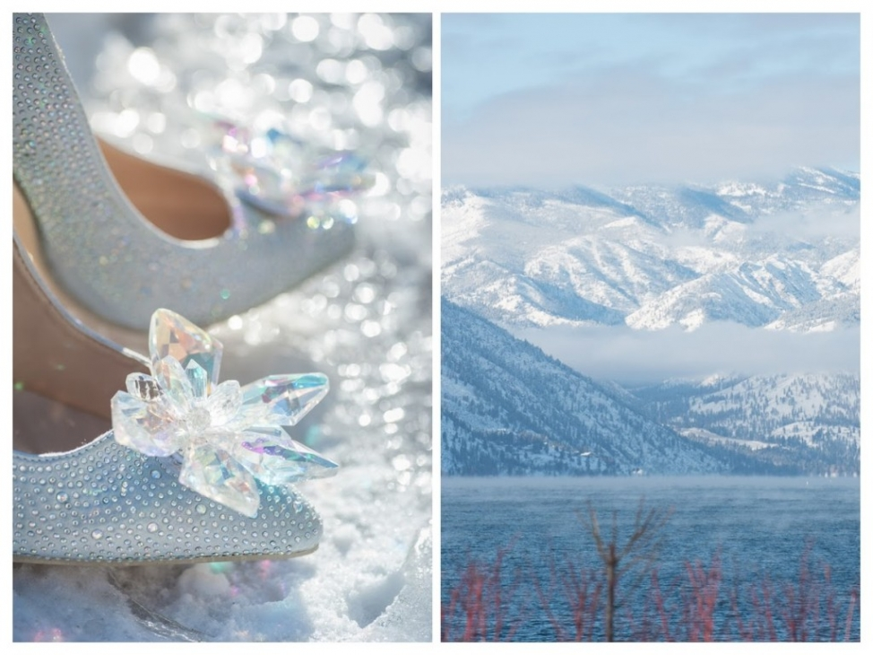 Lake Chelan Flowers, Rogue Heart Media, Lake Chelan Wedding Rentals, snow shoes
