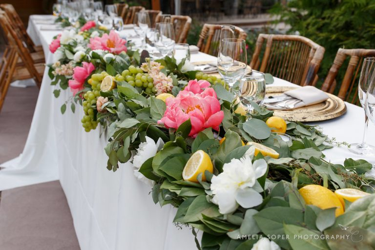 Lush Full Garland - foliage - lakechelanflowers.com- soperphotography.com - wedding - florist